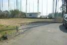 茂原市六ツ野 東郷小学校区 土地広々 南道路面の画像2