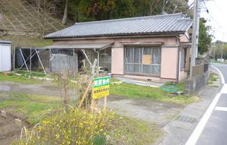 長南町佐坪 173坪 県道沿い古家付売地 値下げしました