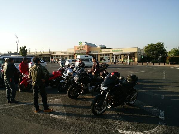 バイクツーリング(外環道開通とジャンボ海老、群馬方面)