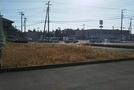 茂原市大芝 東部小学校区 南西角地の売地の画像4