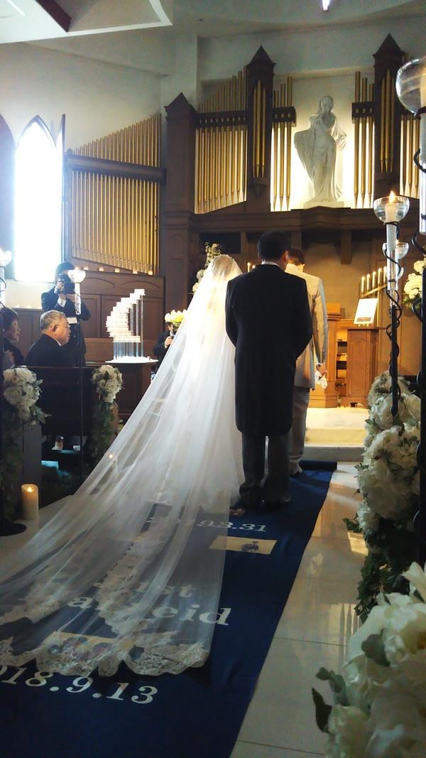 久々の結婚式出席