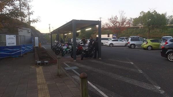 バイクツーリング(茨城 袋田の滝)