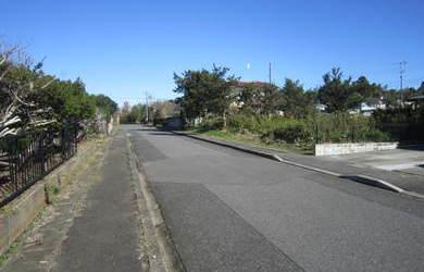 長生郡睦沢町上市場 前面道路が広い整形地 2区画