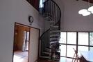 いすみ市 海近 螺旋階段が個性的な別荘の画像8
