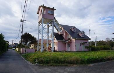 太平洋を望む浴室棟付きの中古別荘