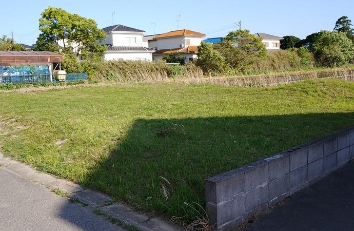 長生村信友 東西に長い日当たりのより90坪